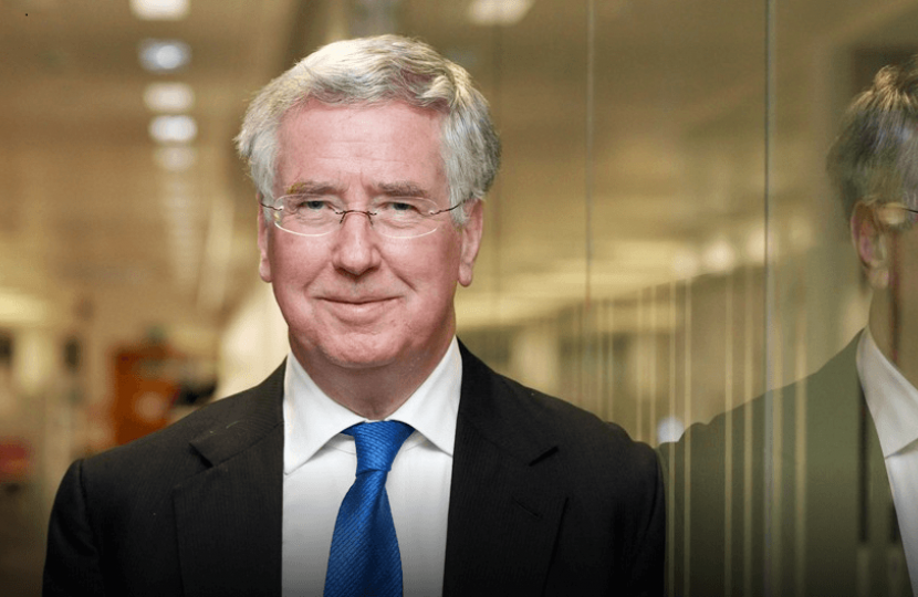 Sir Michael Fallon MP