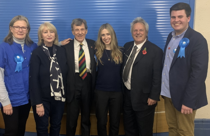 Laura Trott MP with some of our Management Team