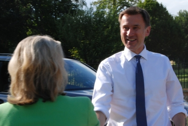 Anna Firth, Chair, SCA welcomes Jeremy Hunt